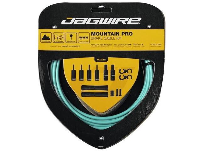 Jagwire Mountain Pro Brake Cable Kit, Turquesa